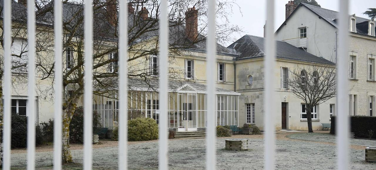 Le centre de Pontourny à Beaumont-en-Véron.