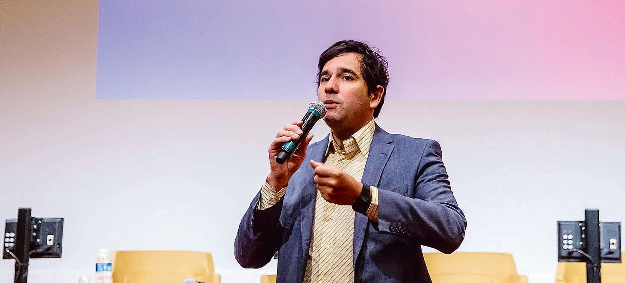 Sébastien Soriano, président de l'Arcep (Autorité de régulation des communications électroniques et des postes) depuis 2015.