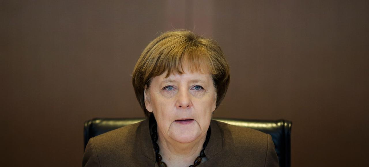 La chancellière allemande Angela Merkel a déclaré que la valeur de l'euro posait «problème».