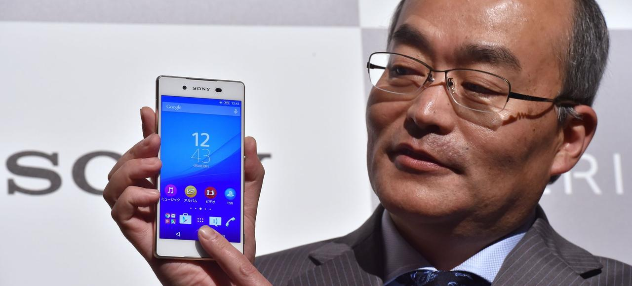 Hiroki Totoki, le PDG de Sony Mobile.