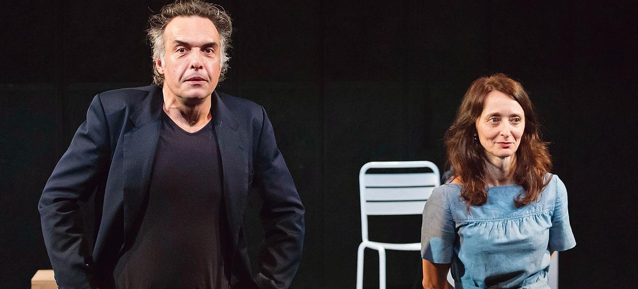 <i>Interview</i>, avec Nicolas Bouchaud et Judith Henry, est un spectacle enjoué et incisif.