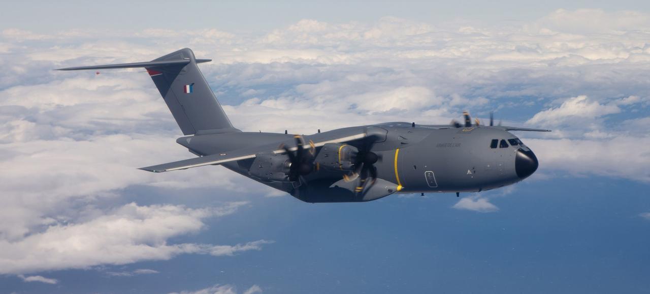 L'Airbus A400M.
