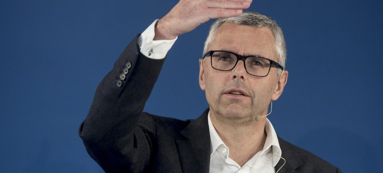 Michel Combes, PDG d'Altice, maison mère de SFR.