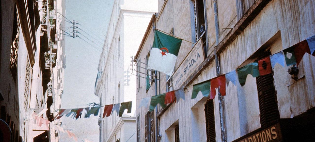 Alger en juillet 1962.