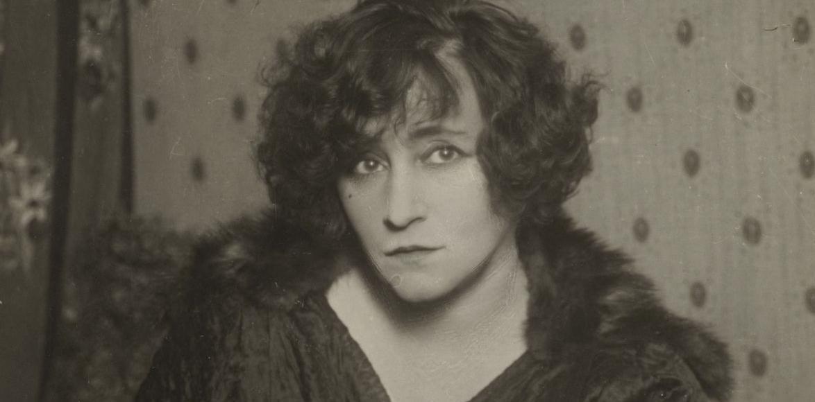 Colette dans les années 1910.