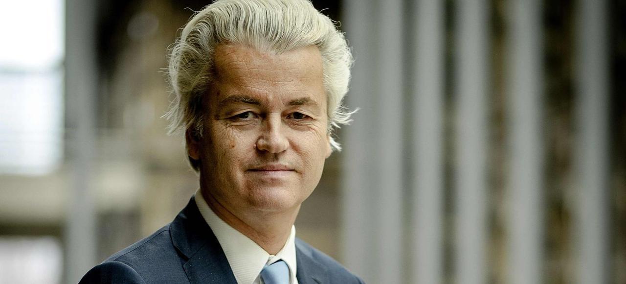 Geert Wilders, leader du parti populiste PVV, (ici le 2 mars à La Hague) espère que «Marine Le Pen devienne présidente».