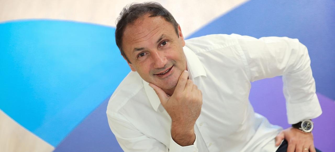 «Je suis quelqu'un d'assez pragmatique. Je n'ai pas de mode opératoire particulier si ce n'est le principe de la marche», explique Ludovic Le Moan, directeur général et co-fondateur de Sigfox. .