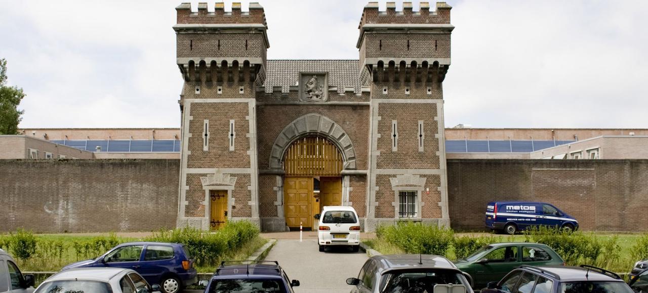 Le pénitencier de Haaglanden, dans le quartier résidentiel de Scheveningen à La Haye, abrite le centre de détention des Nations unies.
