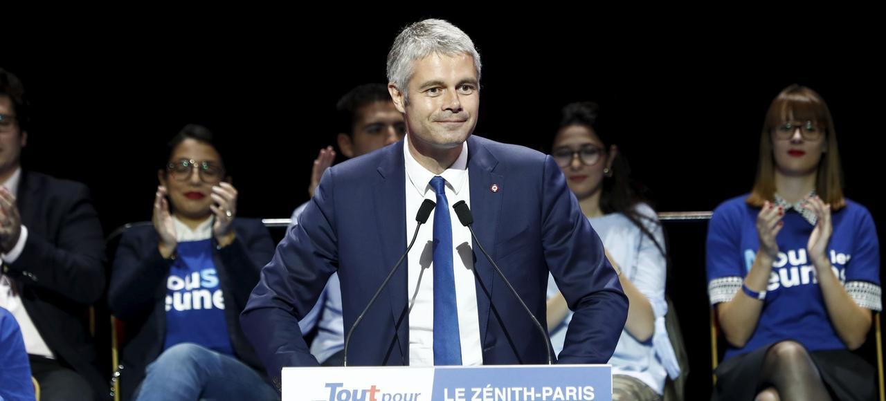 «Je peux apporter un surcroît d'énergie et d'enthousiasme» a assuré Laurent Wauquiez (ci en octobre dernier au Zénith, à Paris) à François Fillon.