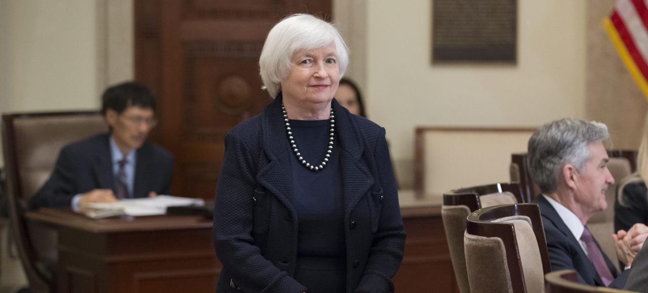 Janet Yellen, le 3 mars à Washington.