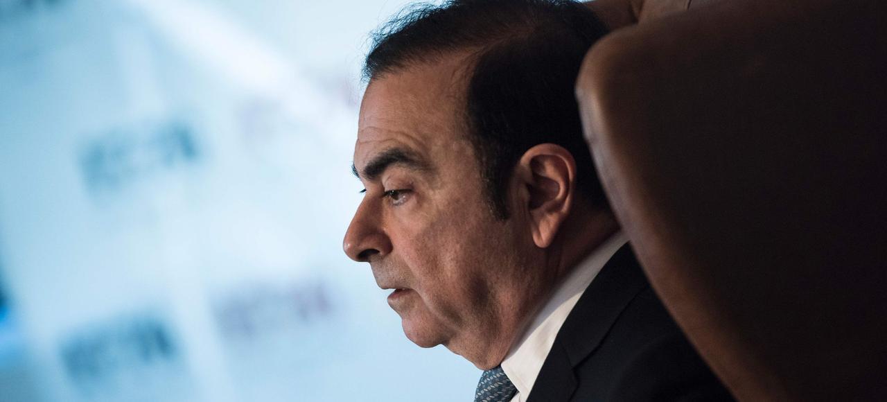 Carlos Ghosn, PDG de Renault.Bien que le groupe affirme avoir respectéla réglementation, une information judiciaire a été ouvertepour «tromperie».