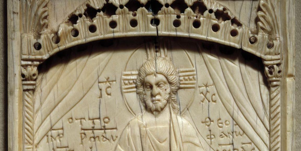 Le Christ couronnant l'empereur Otton II et son épouse Theophano Skleraina (982-983).