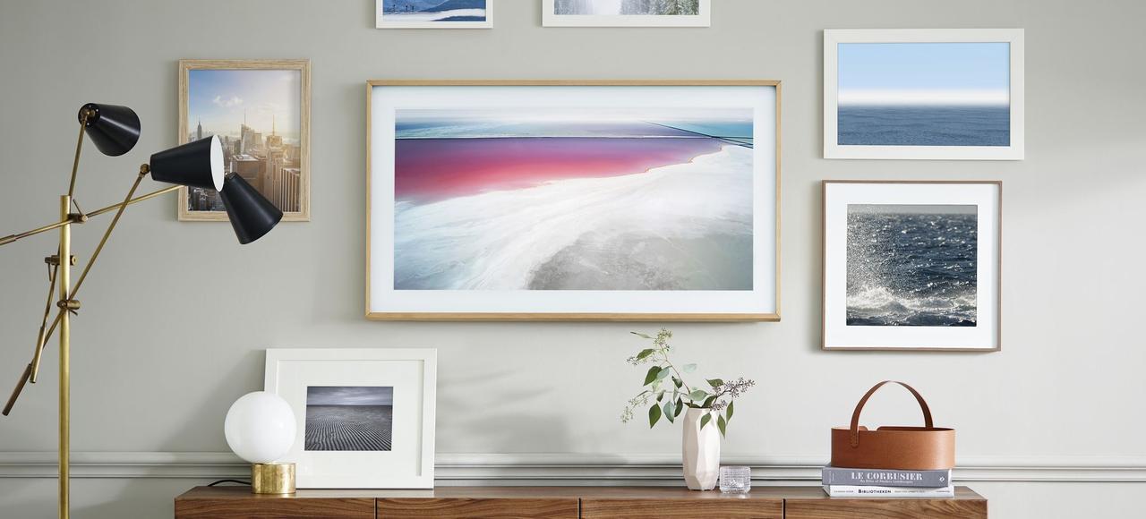 Samsung lance The Frame, une télé aux allures de tableau au rendu impressionnant.