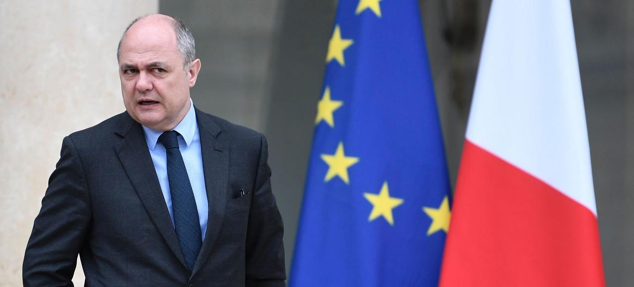 Bruno Le Roux, ministre de l'Intérieur.