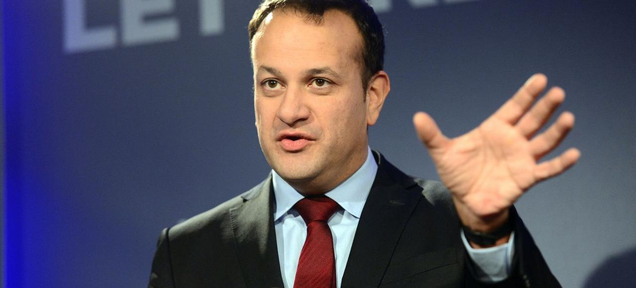 Le ministre irlandais de la Protection sociale, Leo Varadkar.