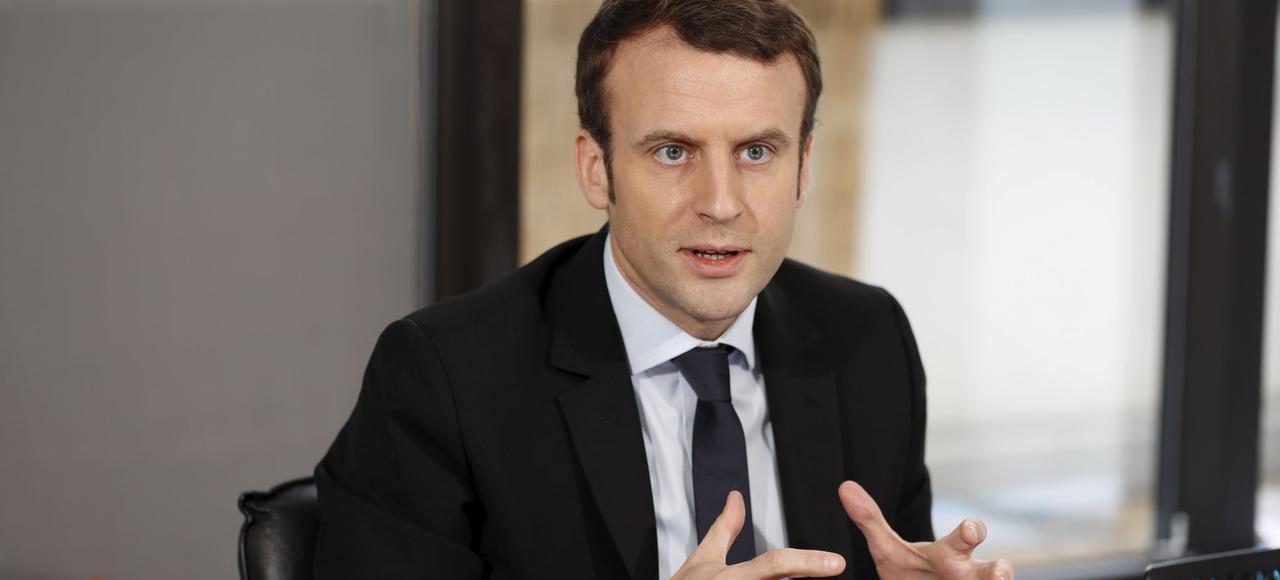 Emmanuel Macron, le candidat d'En Marche!