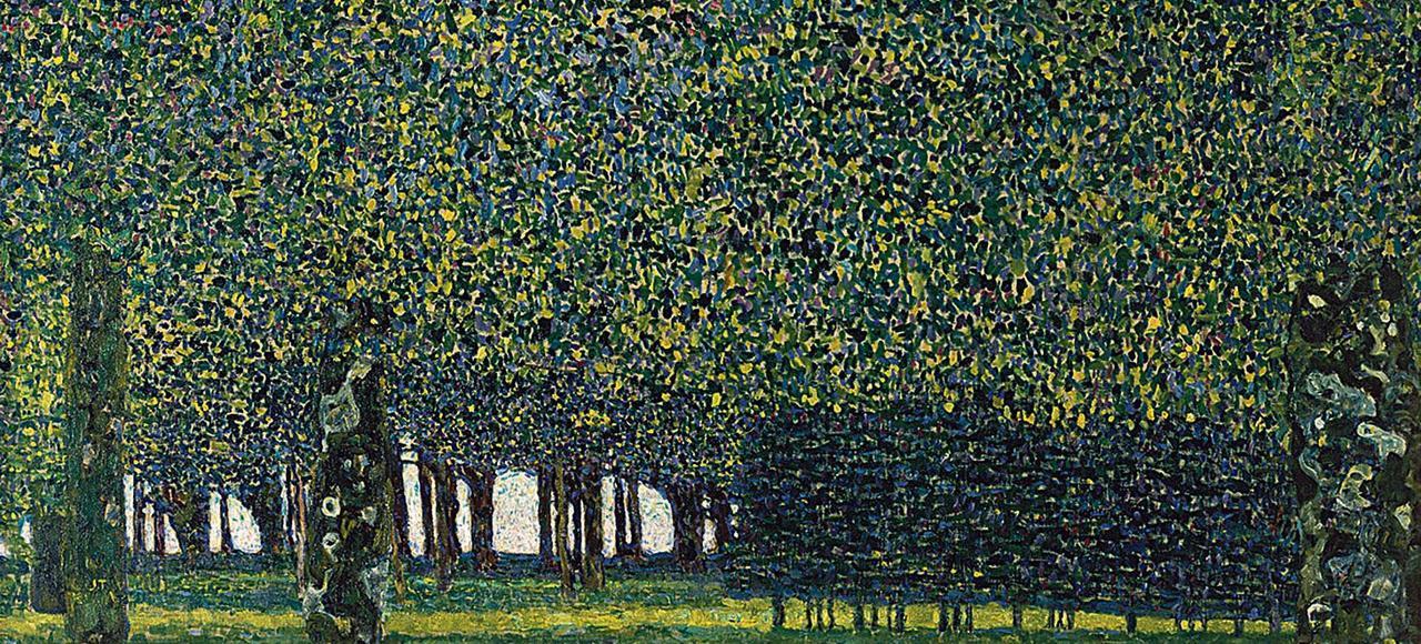Le Parc, de Gustav Klimt, 1910 ou avant.