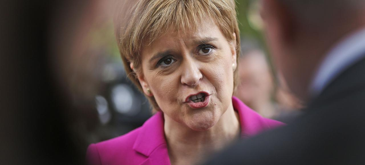 La chef du gouvernement écossais, Nicola Sturgeon.