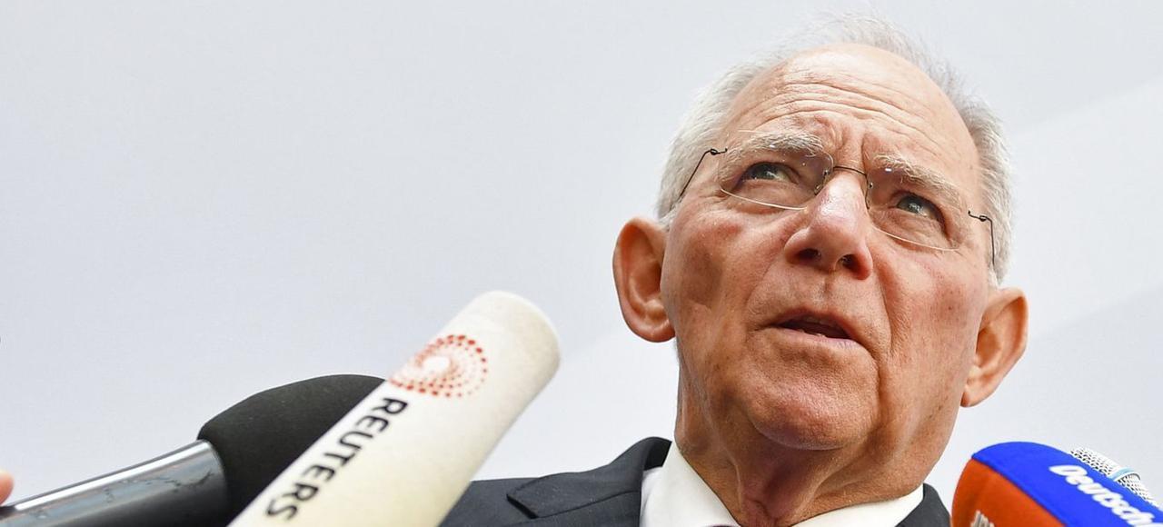 Wolfgang Schäuble, le ministre allemand des Finances.