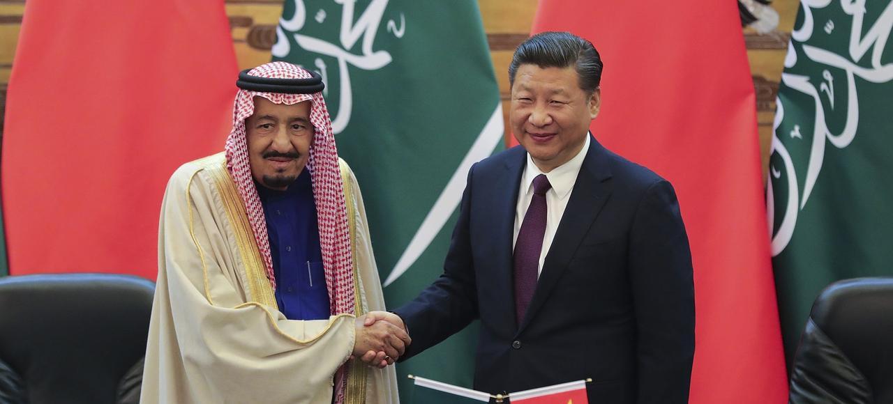 Jeudi, à Pékin, le roi Salmane d'Arabie et le président Xi Jinping ont conclu une batterie d'accords de coopération.