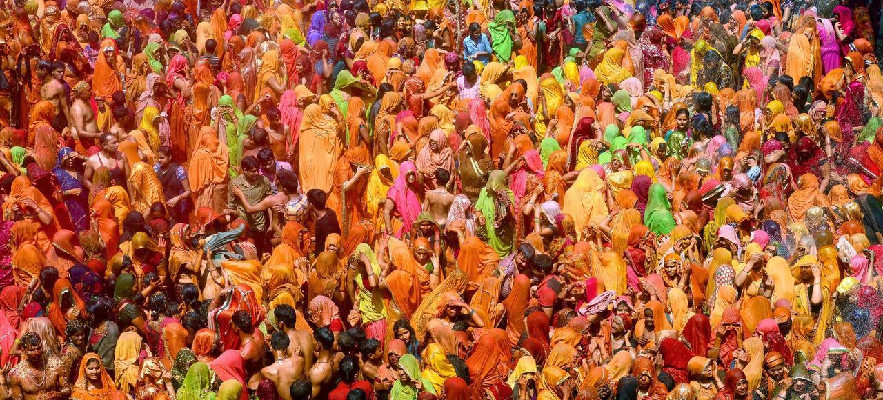 Holi, la fête sacrée des couleurs