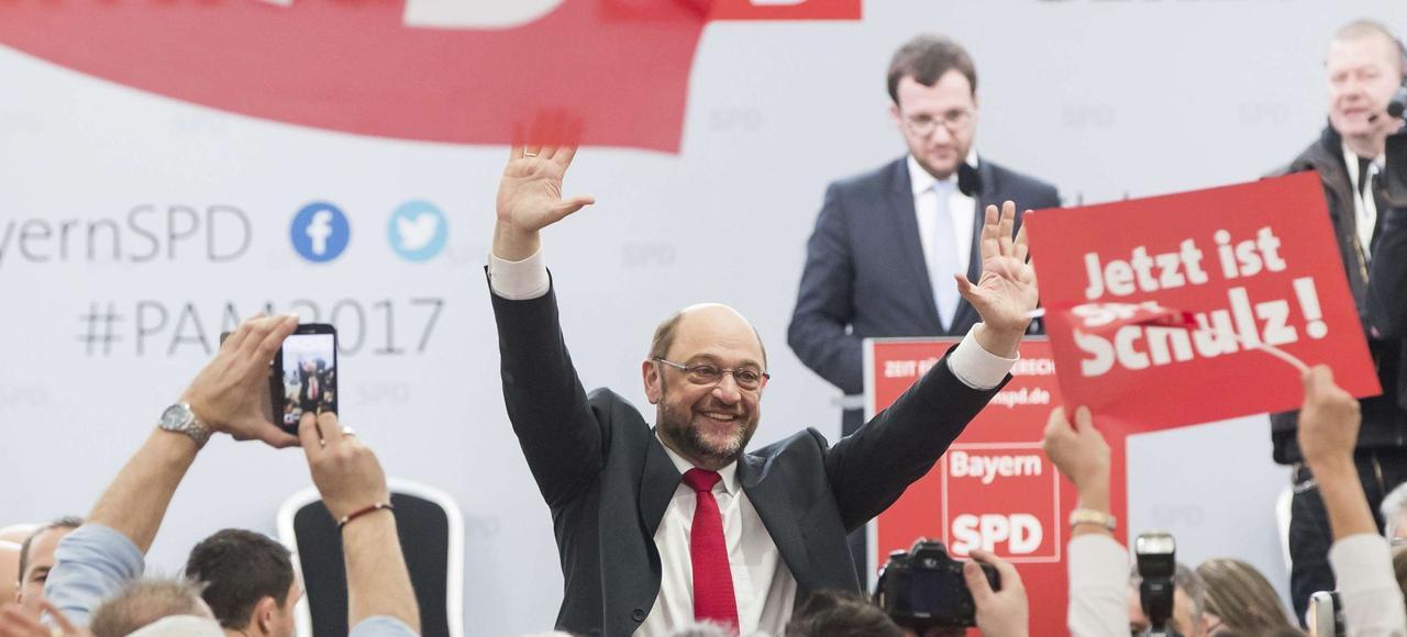 Martin Schulz, candidat comme par magie