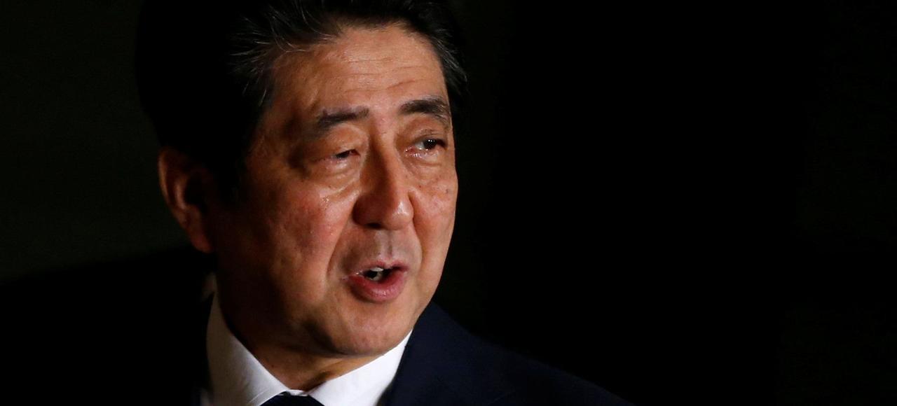Le premier ministre japonais Shinzo Abe, jeudi à Tokyo.