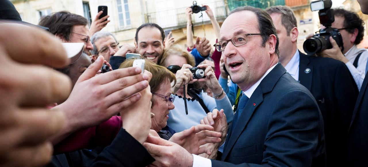 François Hollande candidat virtuel.
