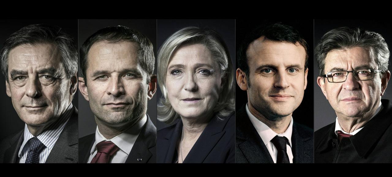 Les candidats qui seront ce lundi sur le plateau de TF1.