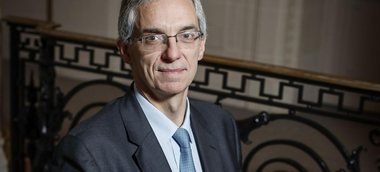 Alexandre Saubot, président de l'Union des industries et métiers de la métallurgie (UIMM).
