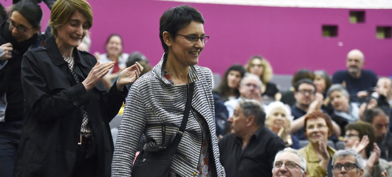 Nathalie Arthaud (Lutte ouvrière) participe à L'Autre Débat organisé par le média 100% Web et réseaux sociaux Explicite.