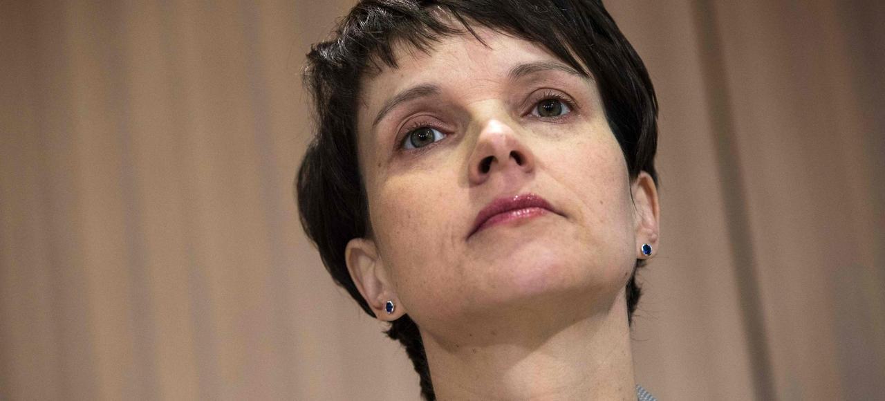 Leader de l'AfD, Frauke Petry est confrontée, en interne, à une solide opposition.