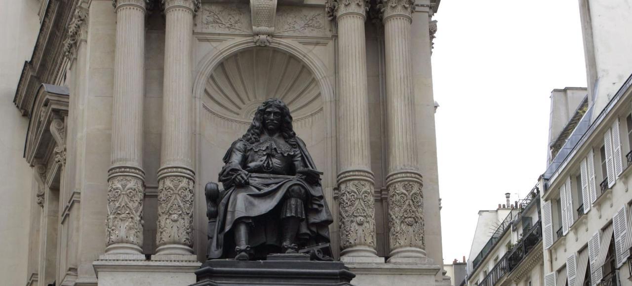 La fontaine Molière, à Paris.