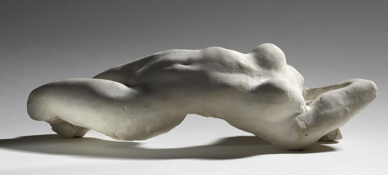 «Torse d'Adèle» (1882, plâtre), d'Auguste Rodin.