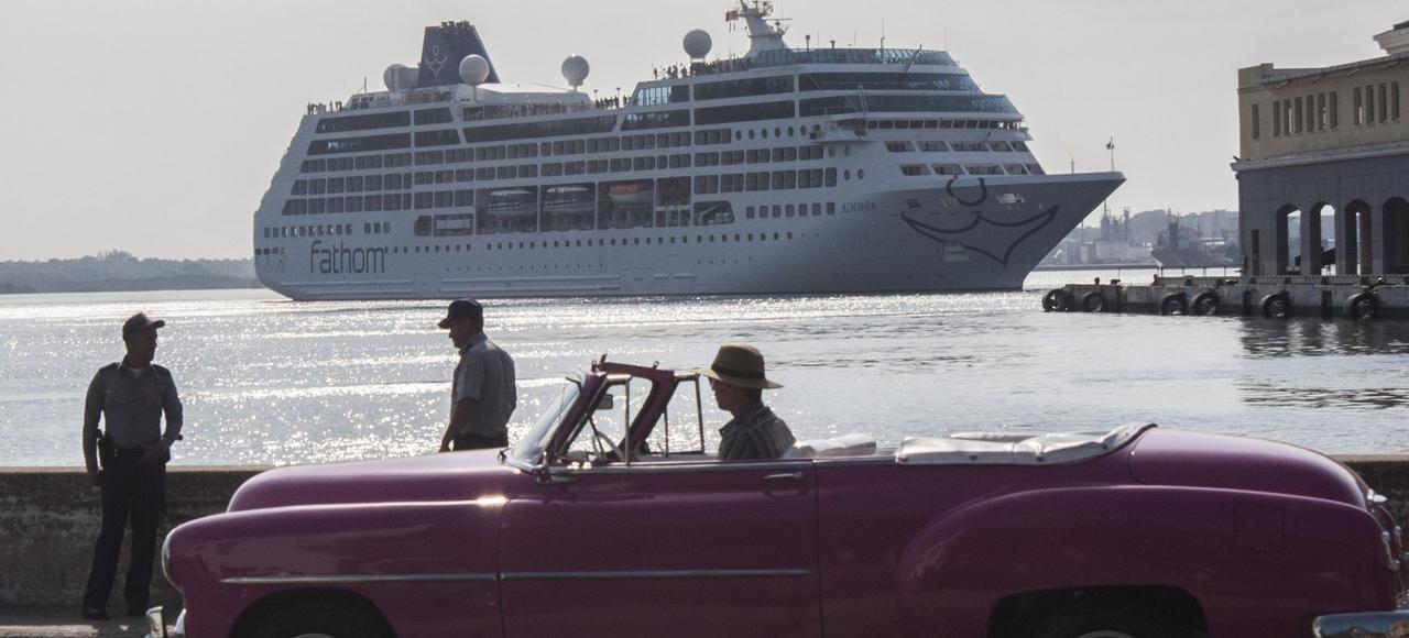 Le 2 mai 2016, pour la première fois depuis 50 ans, un bateau de croisière américain accostait à La Havane.