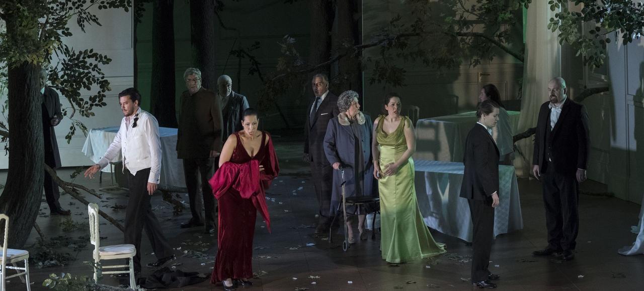 <i>Les Noces de Figaro,</i> mis en scène par Patrice Caurier et Moshé Leiser, à Nantes.