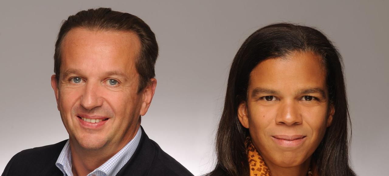 Florian et Crama du Boÿs, fondateurs d'Impala Avenir.