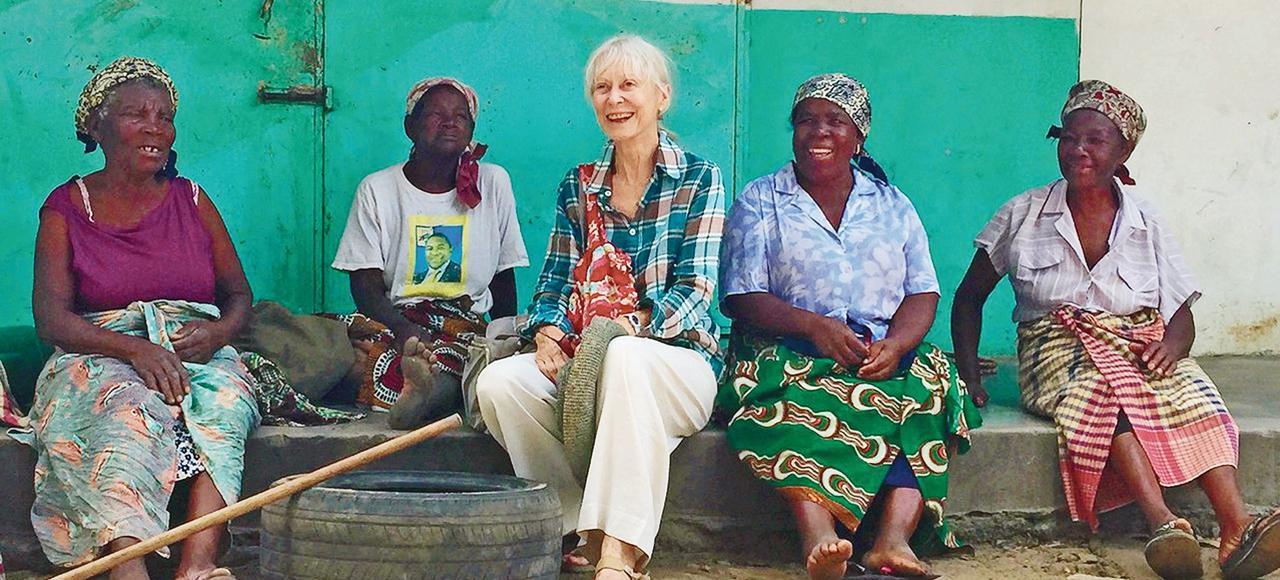 La fondation «Ensemble», cofondée par Jacqueline Délia Brémond, soutient notamment des projets pilotes de pêche durable au Mozambique.