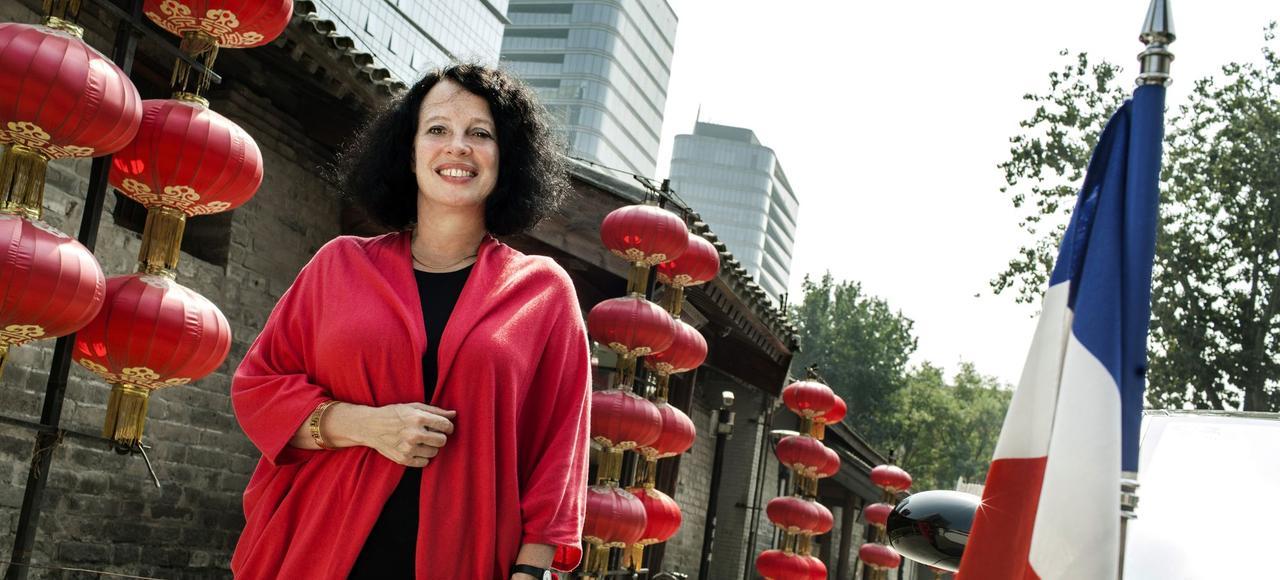 Sylvie Bermann, en 2013 à Pékin.
