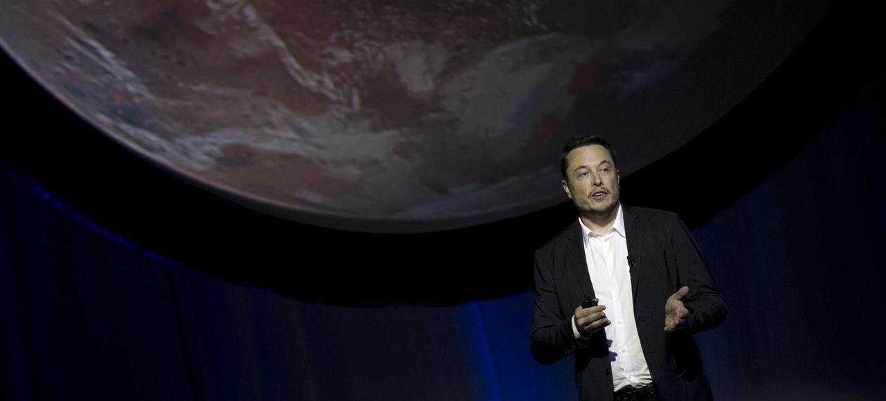 Le fondateur de Space X, Elon Musk.