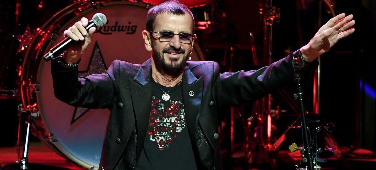Ringo Starr à Las Vegas, en 2016.