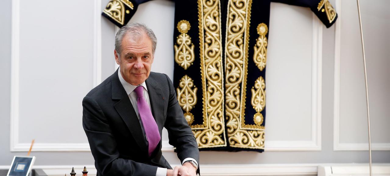 Gilles Rémy, PDG de la société Cifal, jeudi, à Paris.