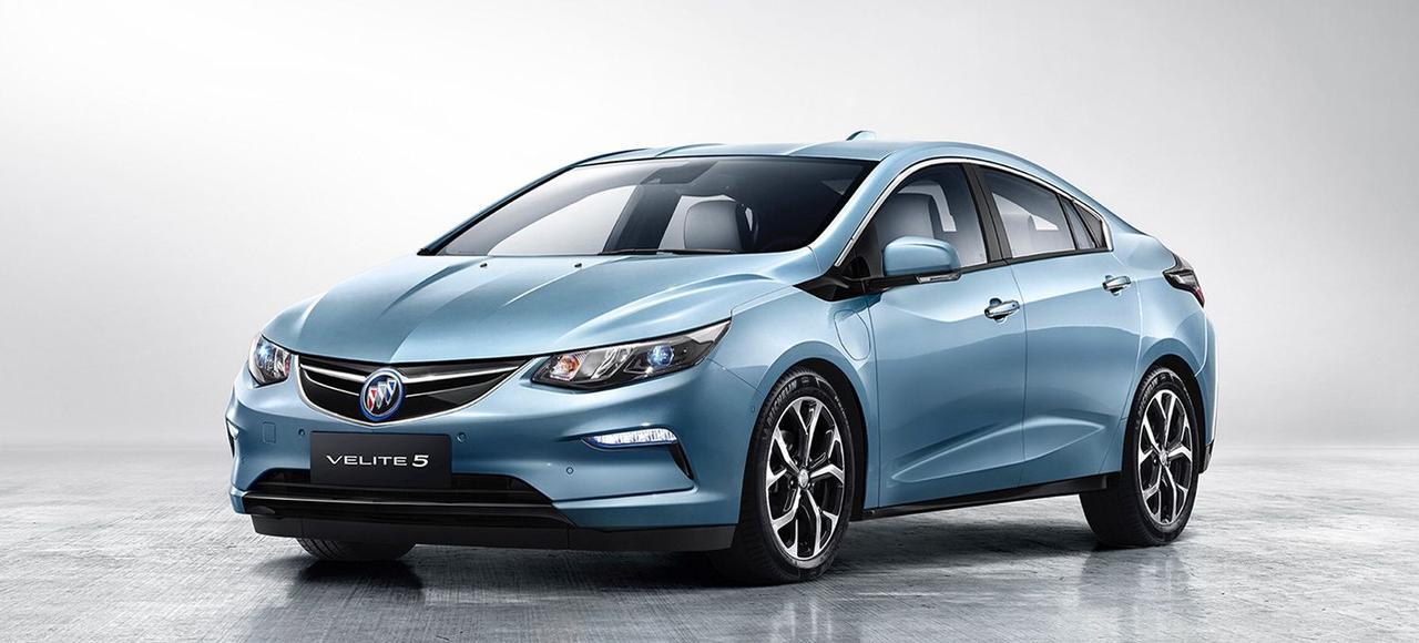La Buick Velite 5 sera l'une des vedettes américaines du salon automobile de Shanghaï, qui se tiendra du 19 au 28avril.