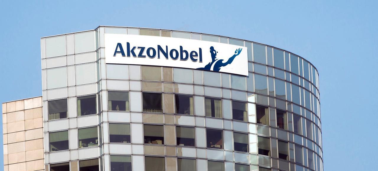 Siège social d'AkzoNobel à Amsterdam.