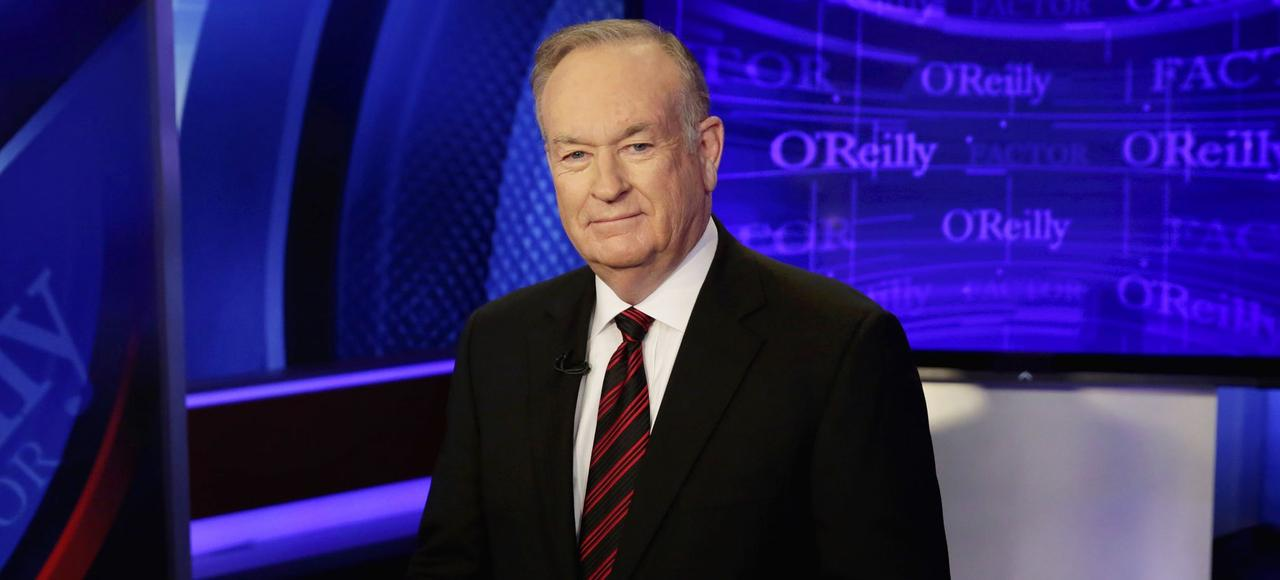 Le présentateur-vedette Bill O'Reilly, sur le plateau de son émission «The O'Reilly Factor», le 1er octobre 2015.