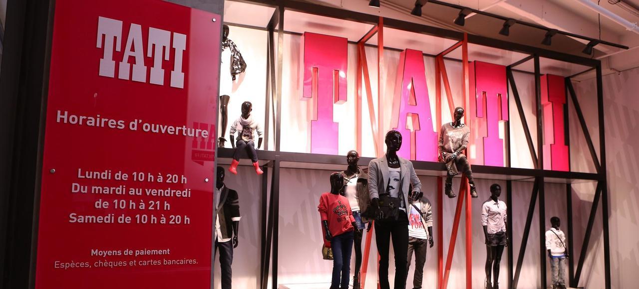 Le magasin Tati du centre commercial Belle Épine, dans le Val-de-Marne.