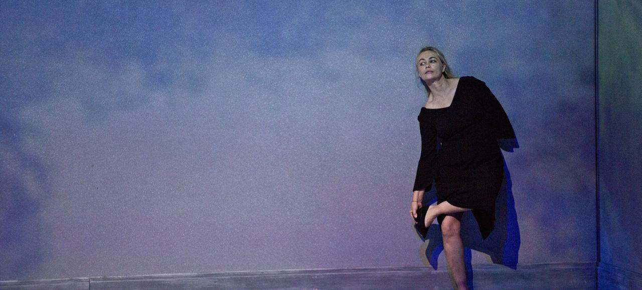 Emmanuelle Béart dans <i>Erich Von Stroheim</i>.