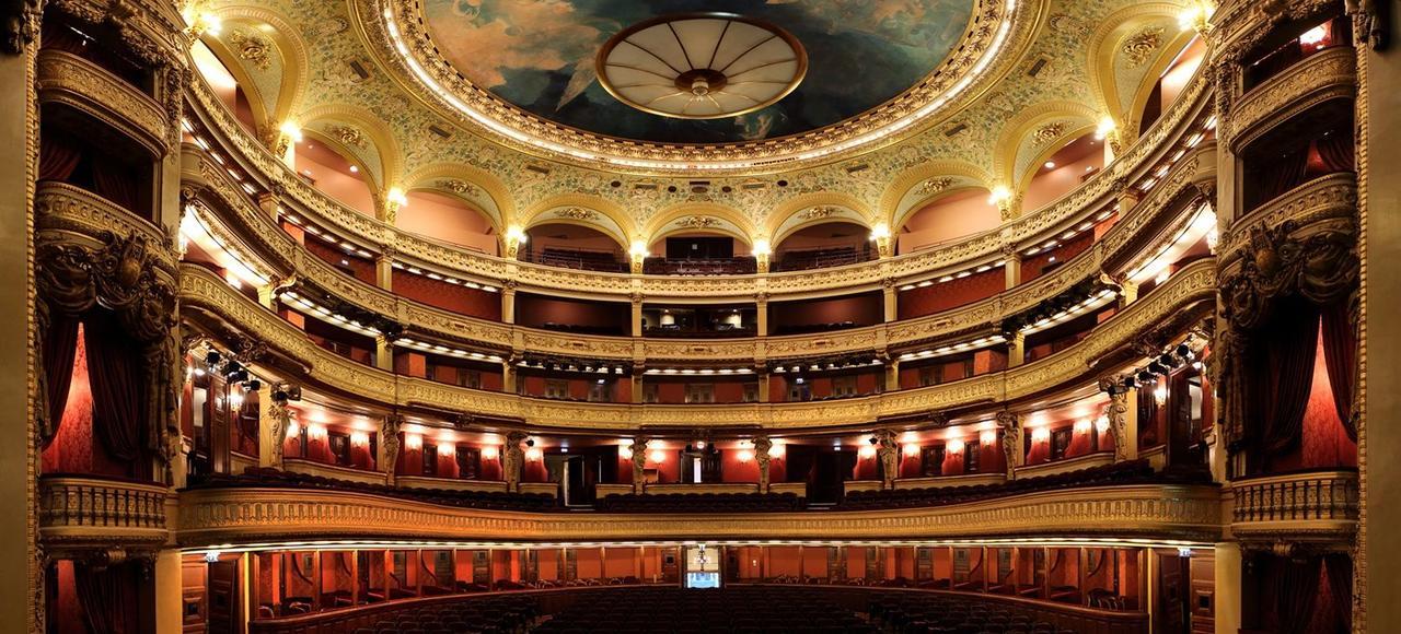 La salle Favart, après la dernière campagne de rénovation qui a duré vingt mois.