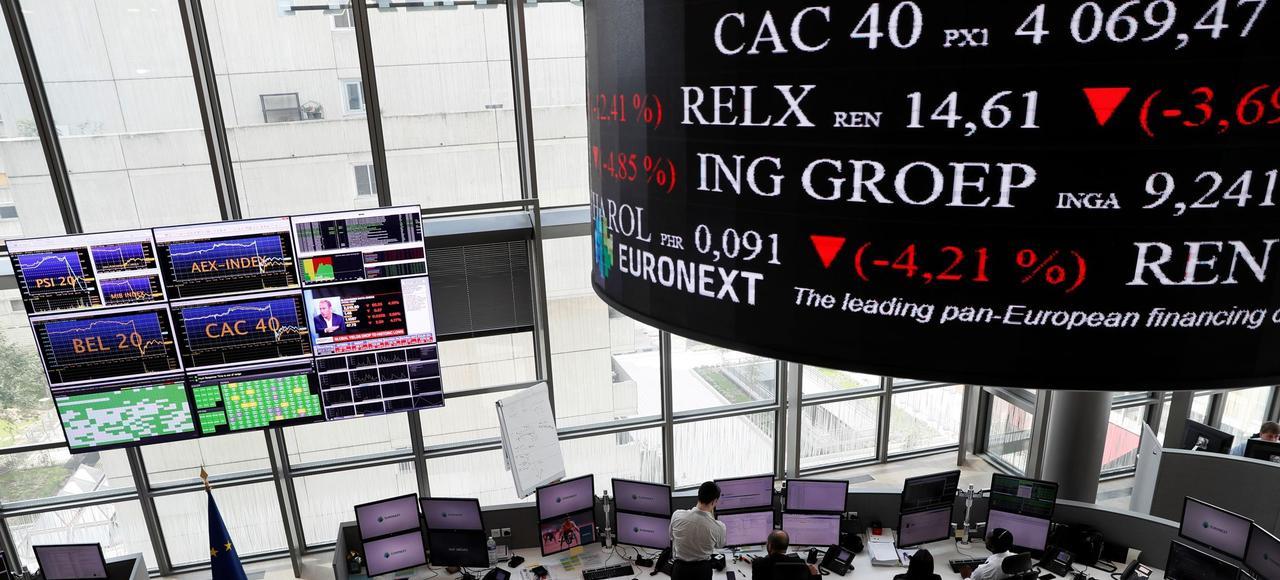 La Bourse de Paris n'a présenté que quatre dossiers pour un montant total de 80millions d'euros.