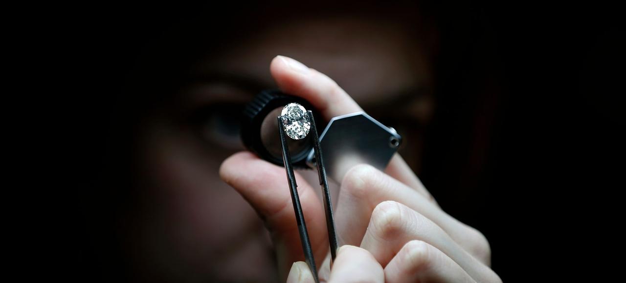 Un diamant de 5,46 carats.
